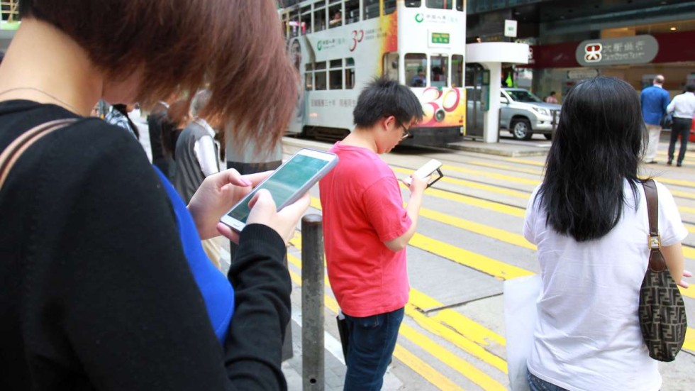 How stupid and smartphones go together in hong kong for Smartphone da hong kong