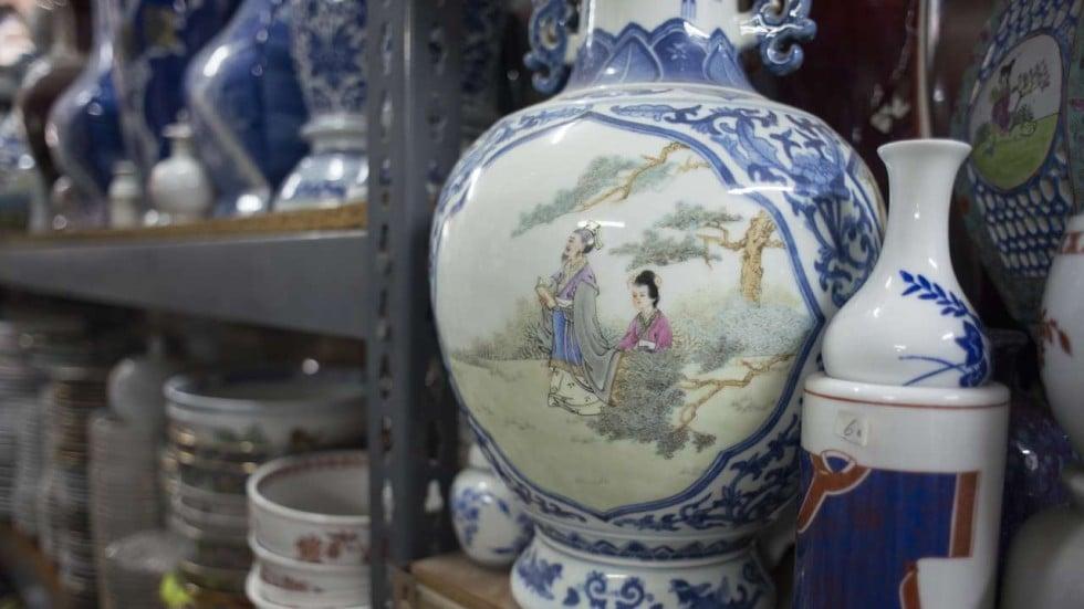 Hong Kongs Best Kept Secrets Hand Painted Porcelain Goods South