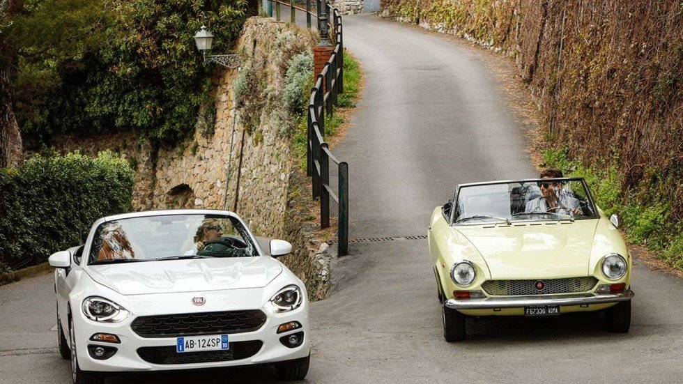 Small Car Giant Fiat Rolls Out A Classic Retro Sports Model South
