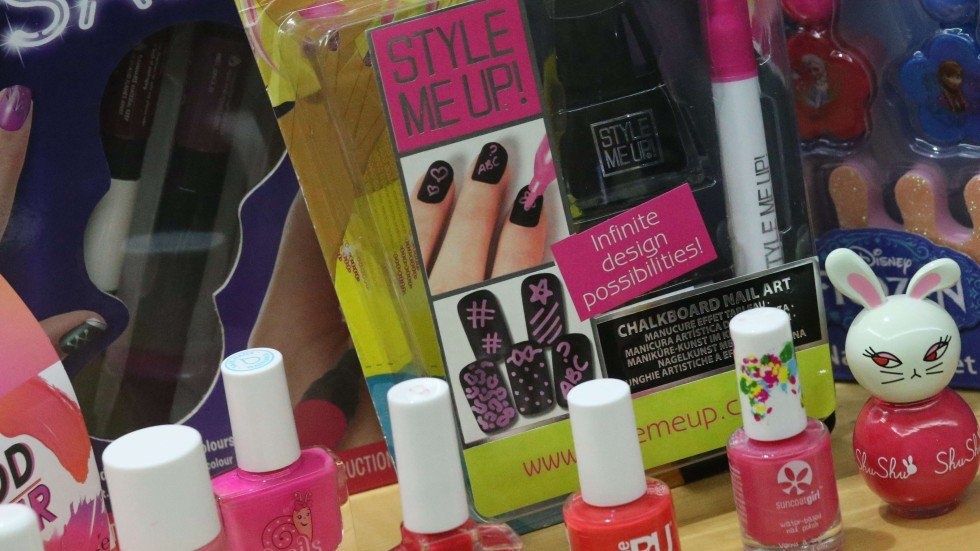 Cancer-causing chemicals found in children\'s nail polish, Hong ...