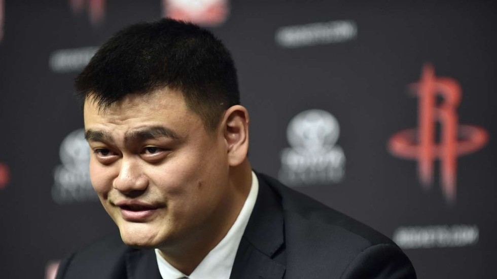 chairman yao former houston rockets star gets top basketball post