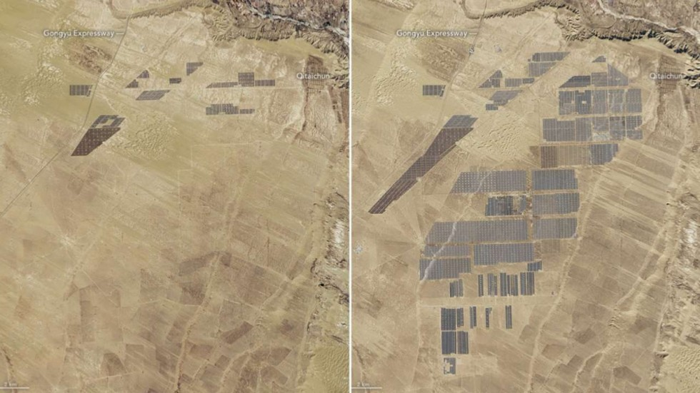 China\'s world-beating solar farm is almost as big as Macau, Nasa ...
