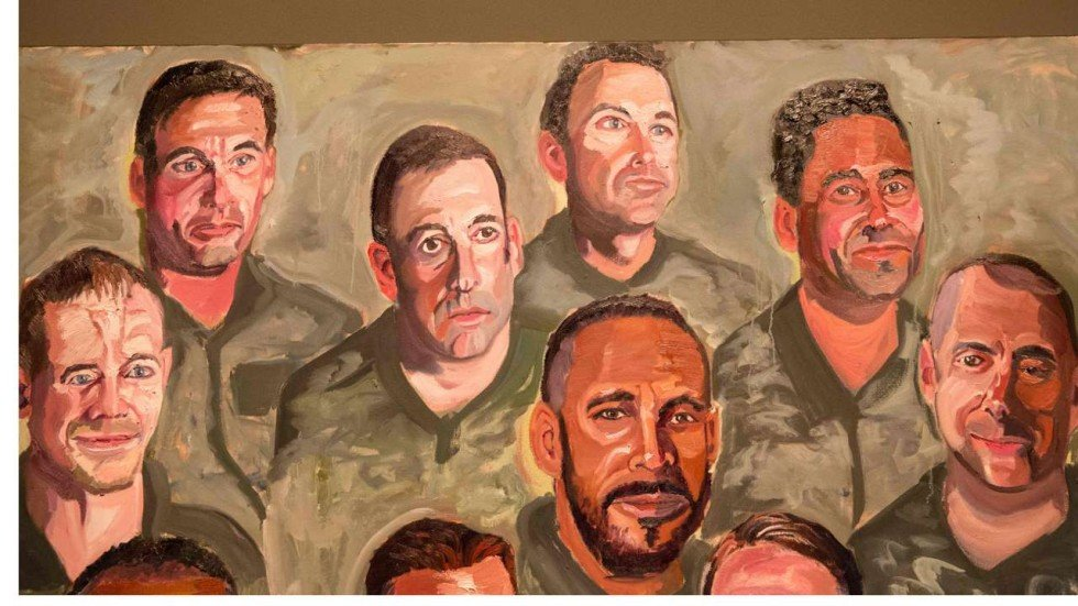 George w bush goes from painting dogs to portraits of us for George bush painting