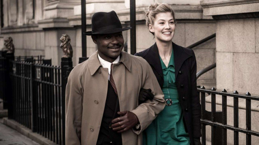 Film Review A United Kingdom David Oyelowo Rosamund Pike Bridge