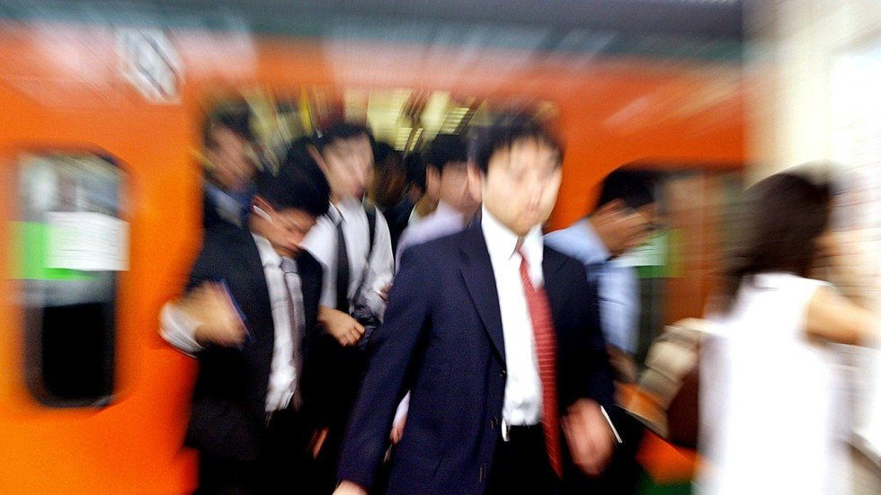 Japan sexual harassment in train make women mad