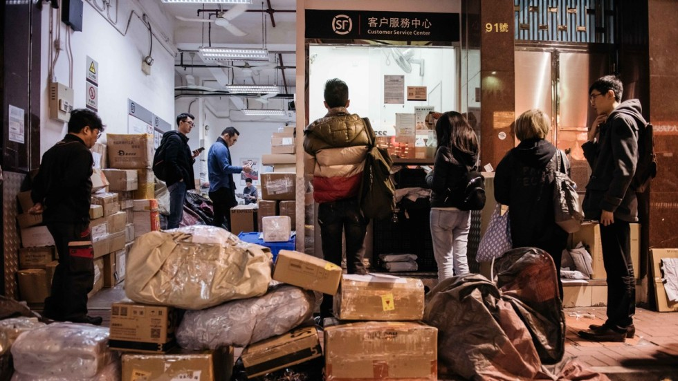 Image result for Online shopping in Hong Kong 'contributes to wasteful packaging', DAB claims