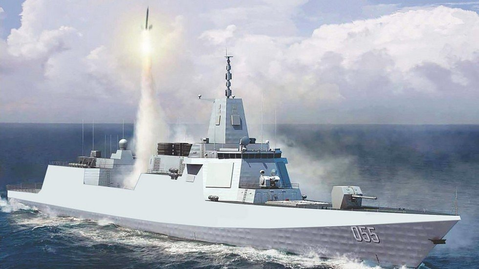 China Boosts Naval Power With Asias Most Advanced Warship South