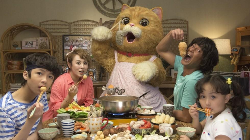 film review  meow  u2013 louis koo meets an alien cat in family