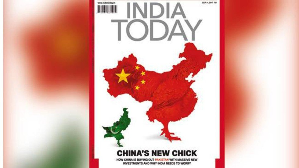 chinese social media users fume over indian magazine u2019s
