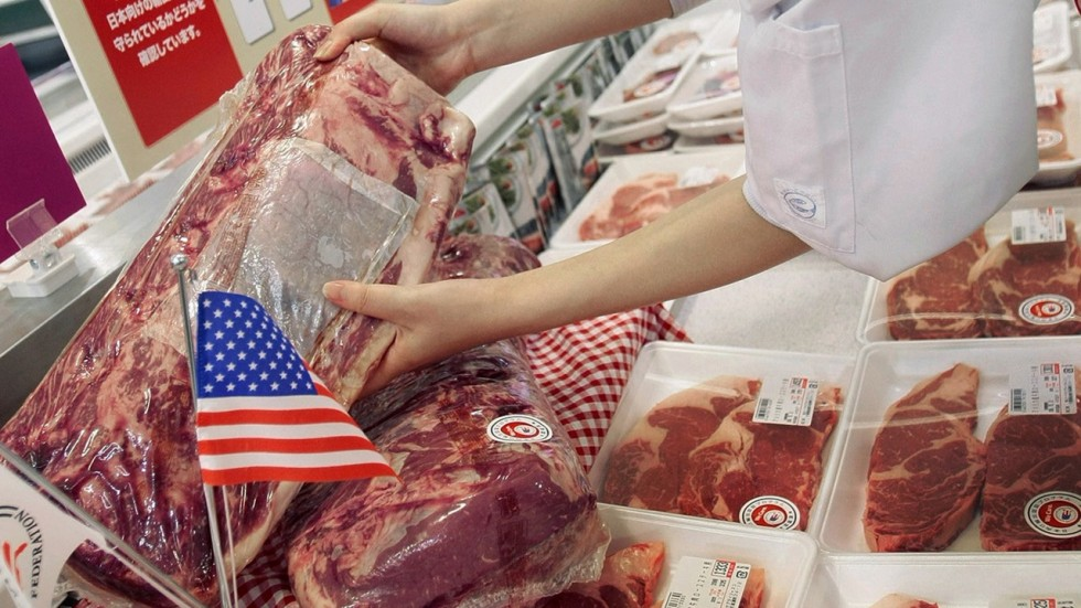 Image result for U.S. beef to china, photos