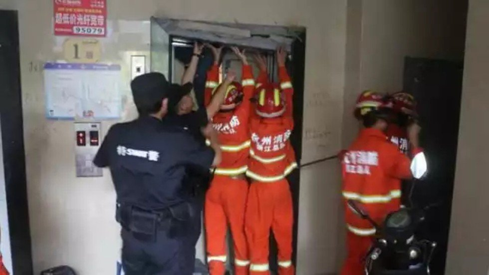 Chinese Repair Man Crushed To Death By Elevator South