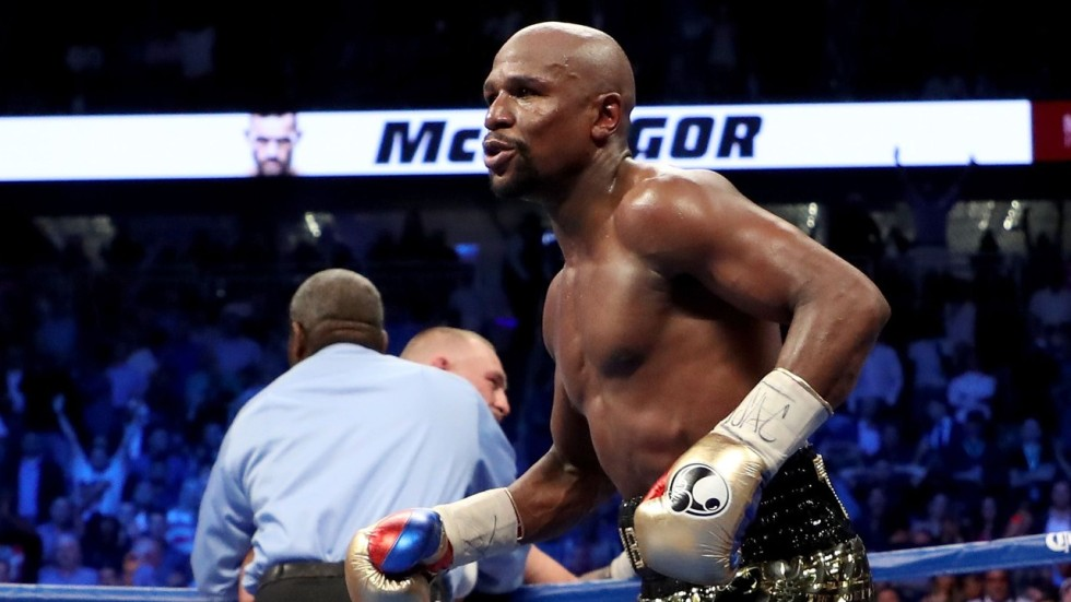 While floyd mayweather repaired his legacy on comeback usain bolt nicolas atkin malvernweather Gallery