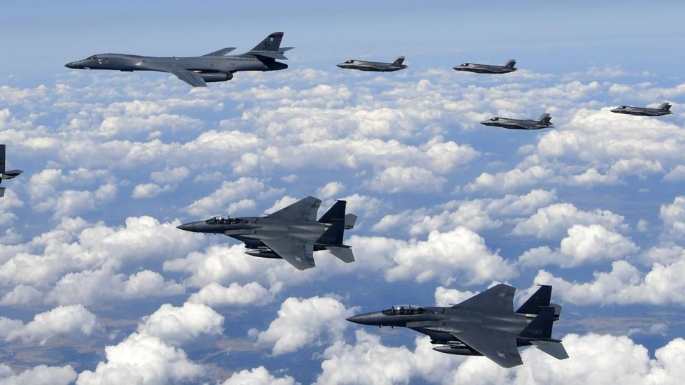 Meet Russian Jets Over Korea