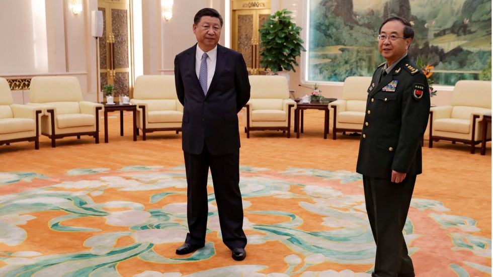 Xi jinping clears decks for top level changes to chinas military minnie chan spiritdancerdesigns Gallery