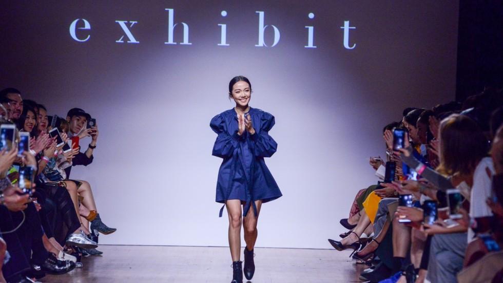 Macau Born Social Media Influencer Turned Designer Yoyo Cao At Singapore Fashion Week South