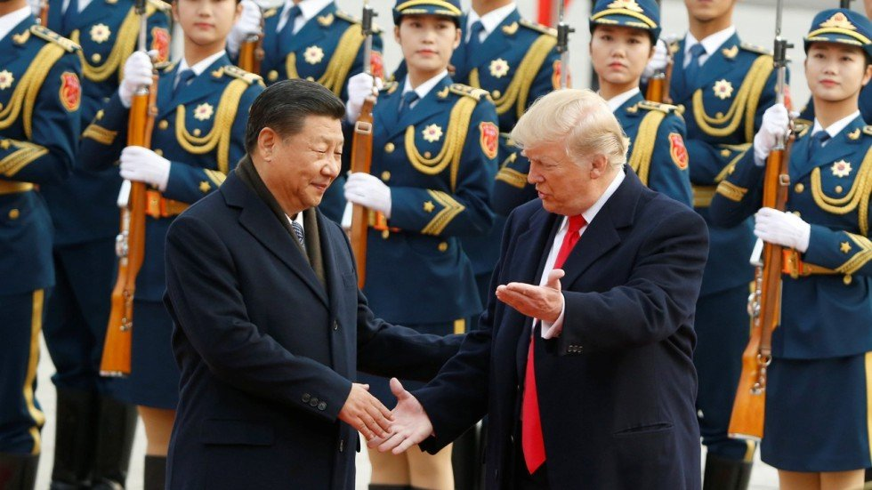 Image result for Trump, Xi and Macron