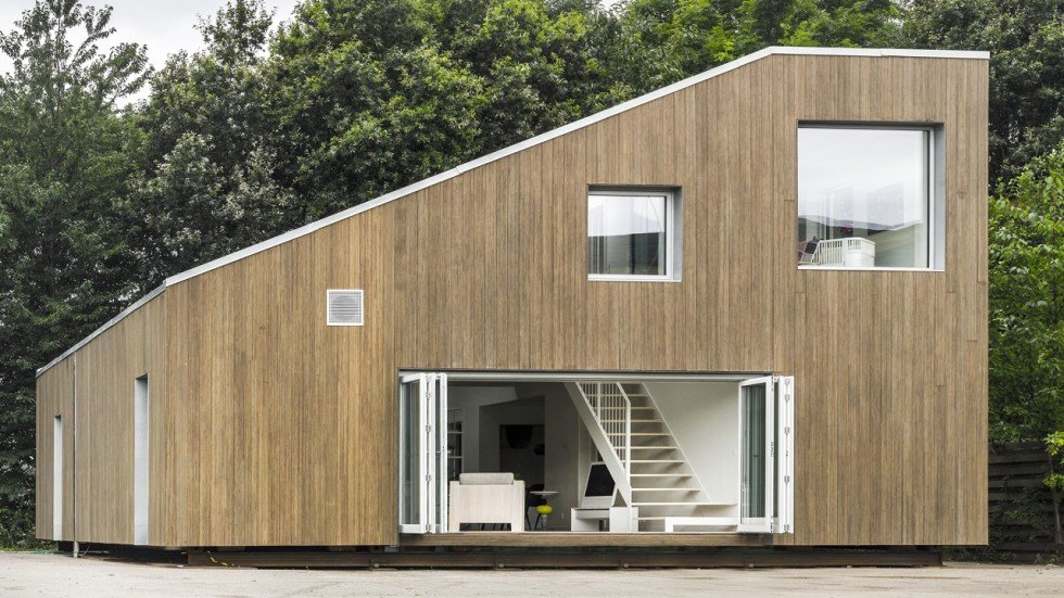 Peta Tomlinson Plans for container homes in