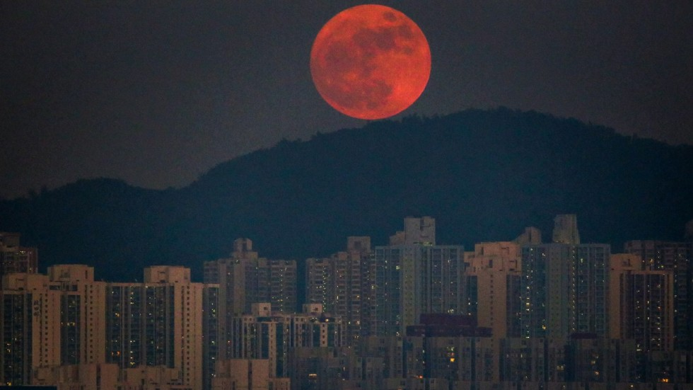 Dec 2017 Full Moon >> Clear skies forecast for Hong Kong's supermoon   South China Morning Post