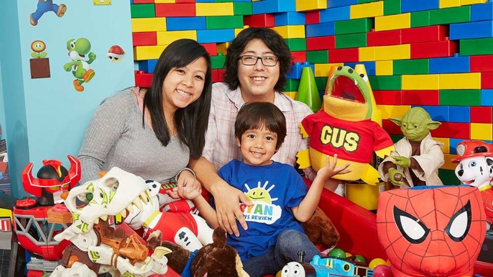 Toys For Boys Six Year : Meet ryan the six year old who made us$11 million in a year