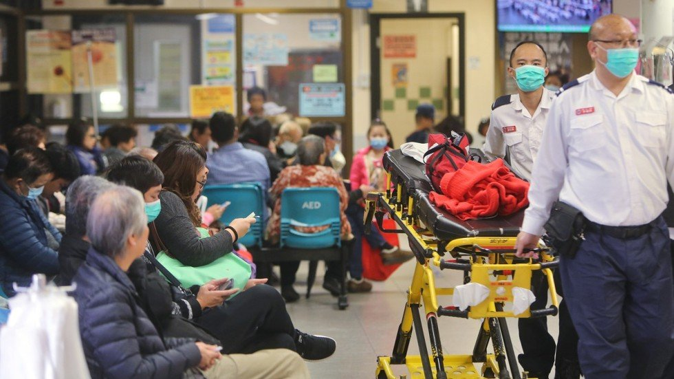Eight Hour Waits In Emergency Rooms As Hong Kong Hospitals Feel Flu