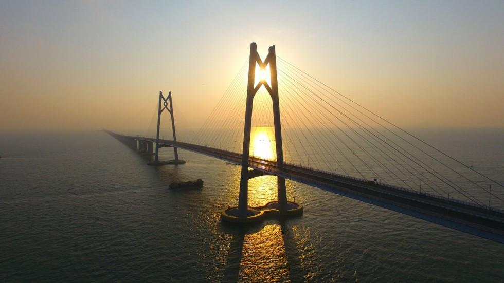 popularity of zhuhai bridge trips highlights gap between hong kong