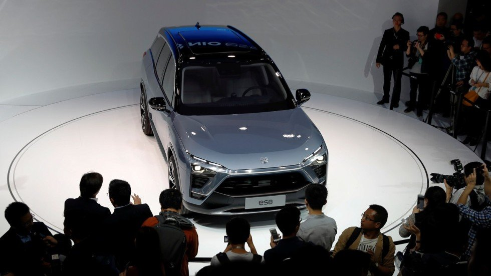 Chinese electric carmaker nio files for ipo