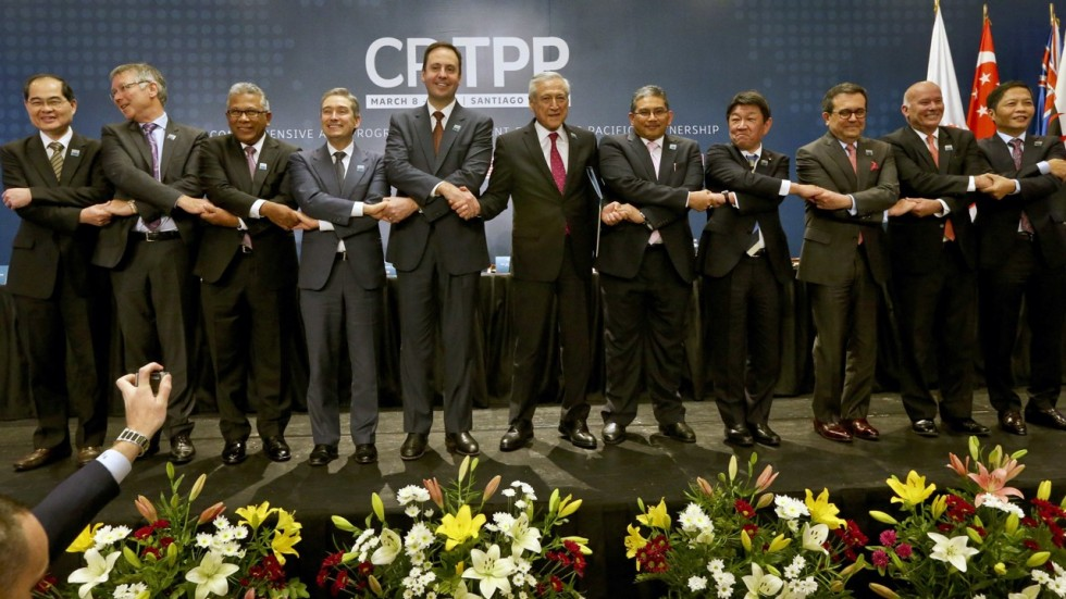 11 Nations Sign Trans Pacific Trade Pact As Trump Imposes Steel And