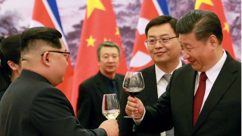 Image result for Kim concludes his visit to Beijing with a second meeting with Xi