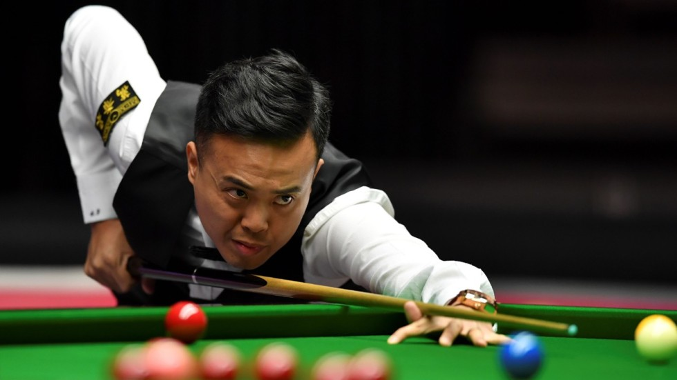 I\'m back in the frame! Hong Kong snooker star Marco Fu announces he ...