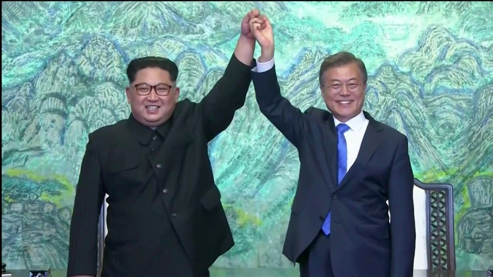 North And South Korea Pledge To End All Hostilities And Work For