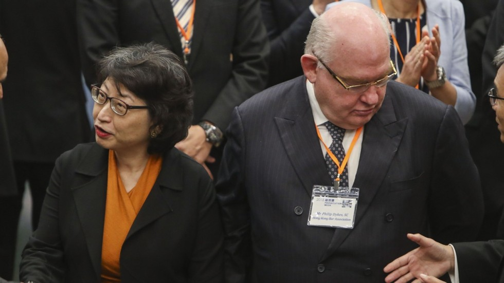 Dont Turn Prosecution Into Persecution Head Of Hong Kong Barrister
