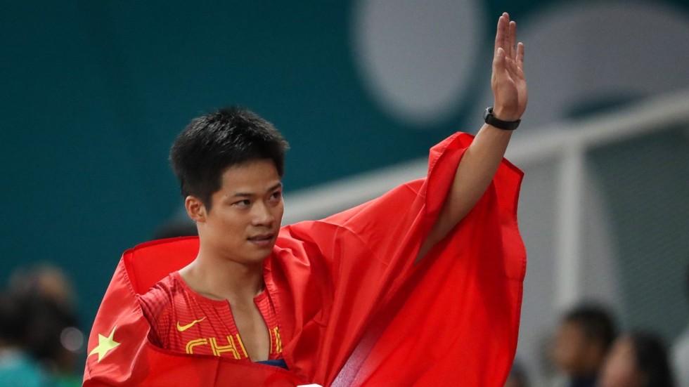 Asia's fastest man Su Bingtian values Asiad gold over ...