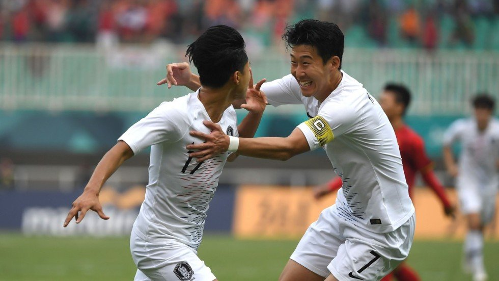 Asian Games  Son Heung-min one step away from South Korea military ... 4c7c308c9