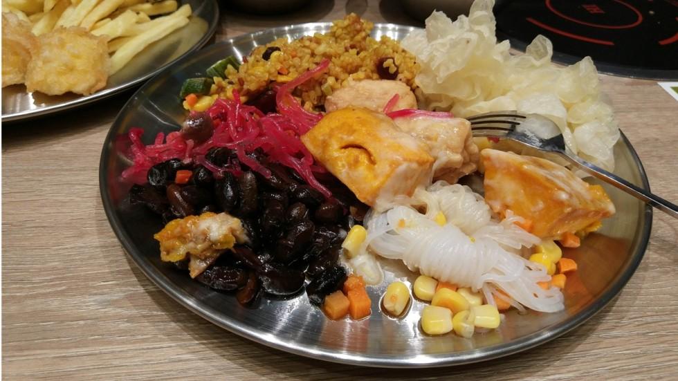 Vegetarian Korean Buffet And Diy Bibimbap At Bobsang In Tsing Yi For