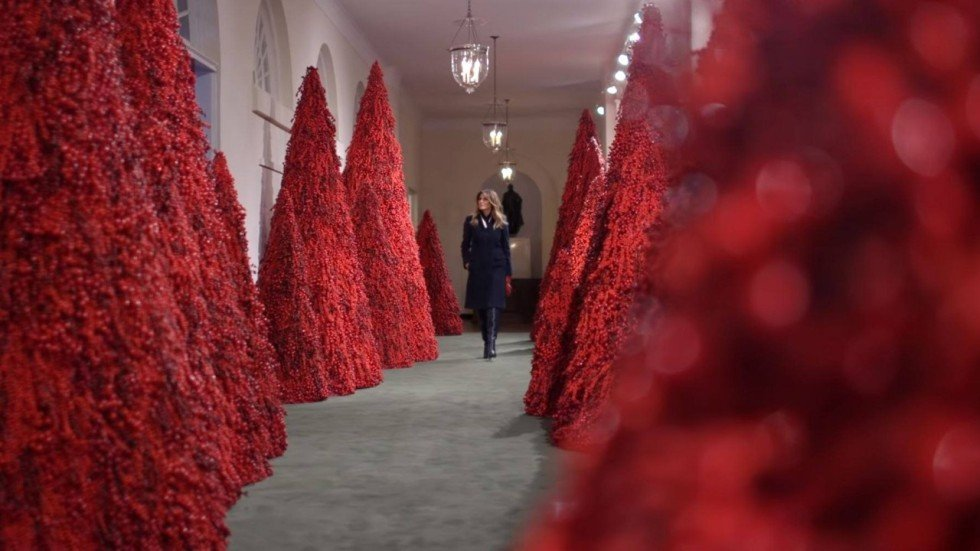 Here's why some people find Melania Trump's blood-red ...