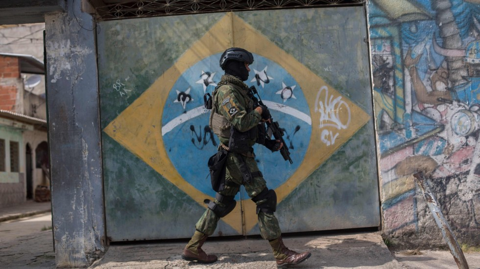brazil military fulfils mission as operation to secure rio state