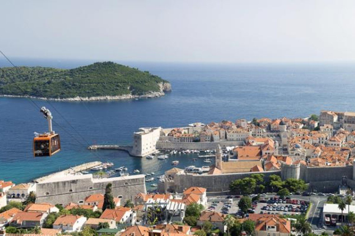 A cable-car ride is a great way to get a bird's-eye view of Dubrovnik.