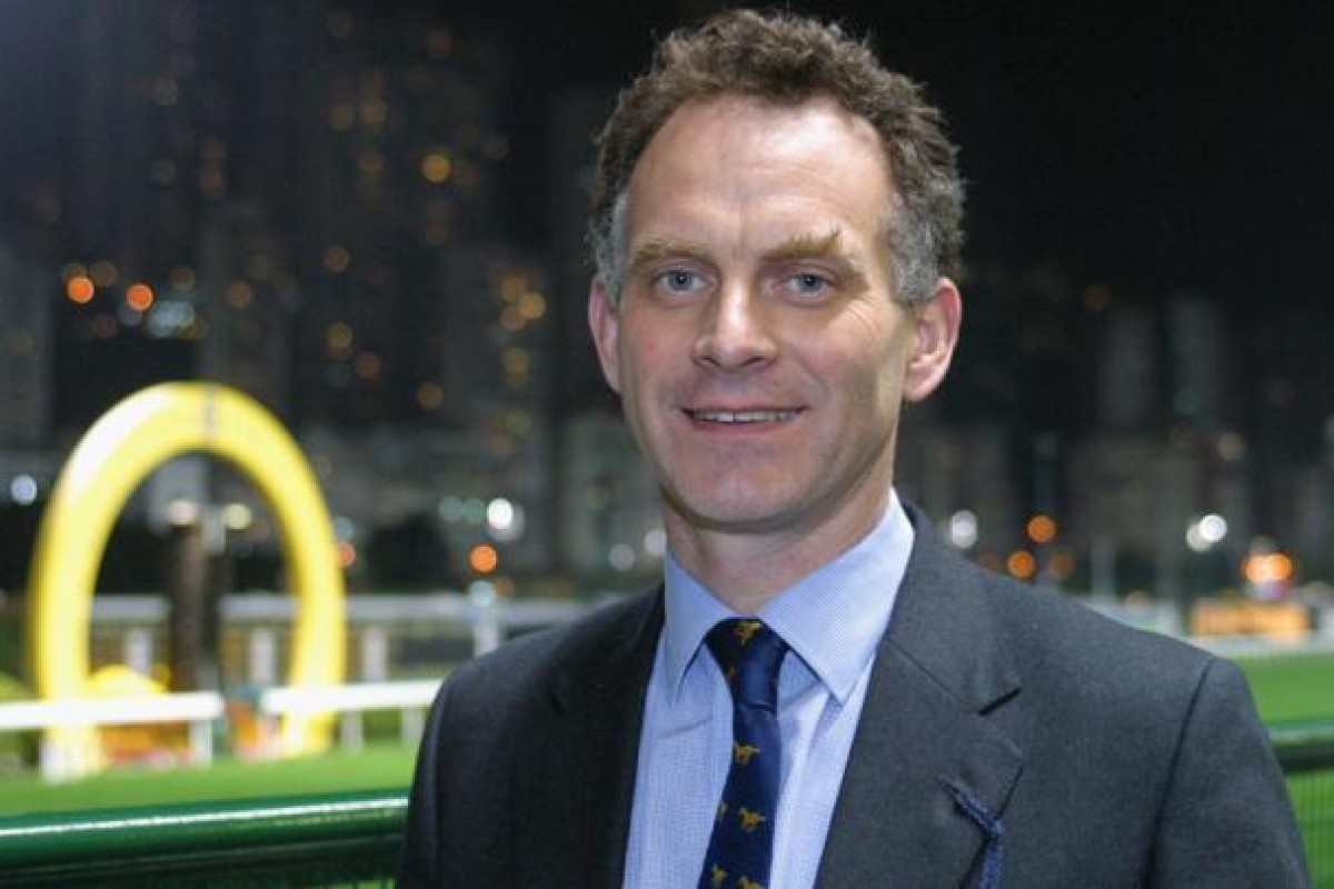 Chris Riggs, Head of the Veterinary Clinical Services of the Hong Kong Jockey Club. Photo: Kenneth Chan