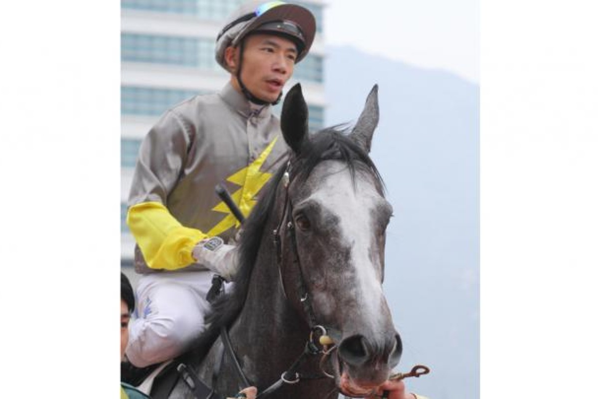 Howard Cheng and classy sprinter Smart Volatility. Photo: Kenneth Chan