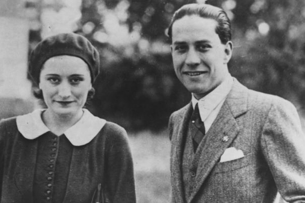 Benito Mussolini's daughter, Edda, and her husband, Count Galeazzo Ciano. Photo: Hulton-Deutsch Collection/Corbis