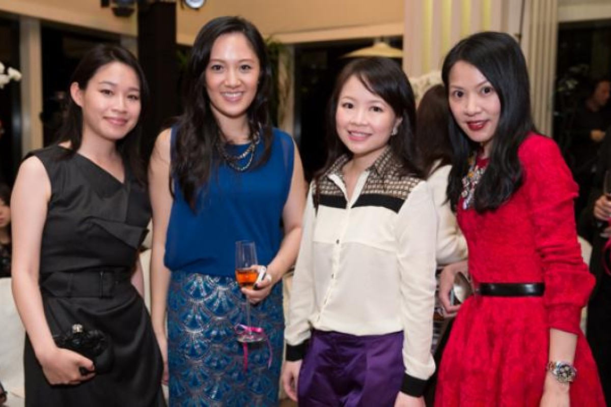 (From left) Jolene Chow, Jenny Chau, Jennifer Cheng and Ada Cheng