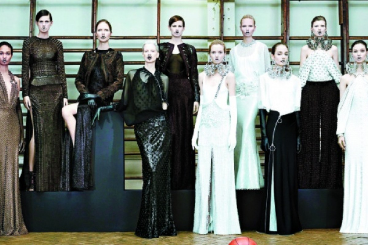 Givenchy's spring-summer 2012 haute-couture collection.