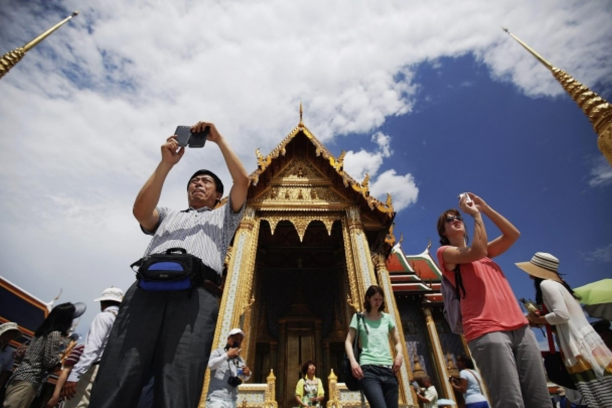Bangkok has edged out London as the most popular destination. Photo: Reuters