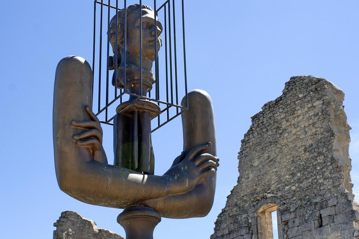 Bourganov's sculpture of the Marquis de Sade.