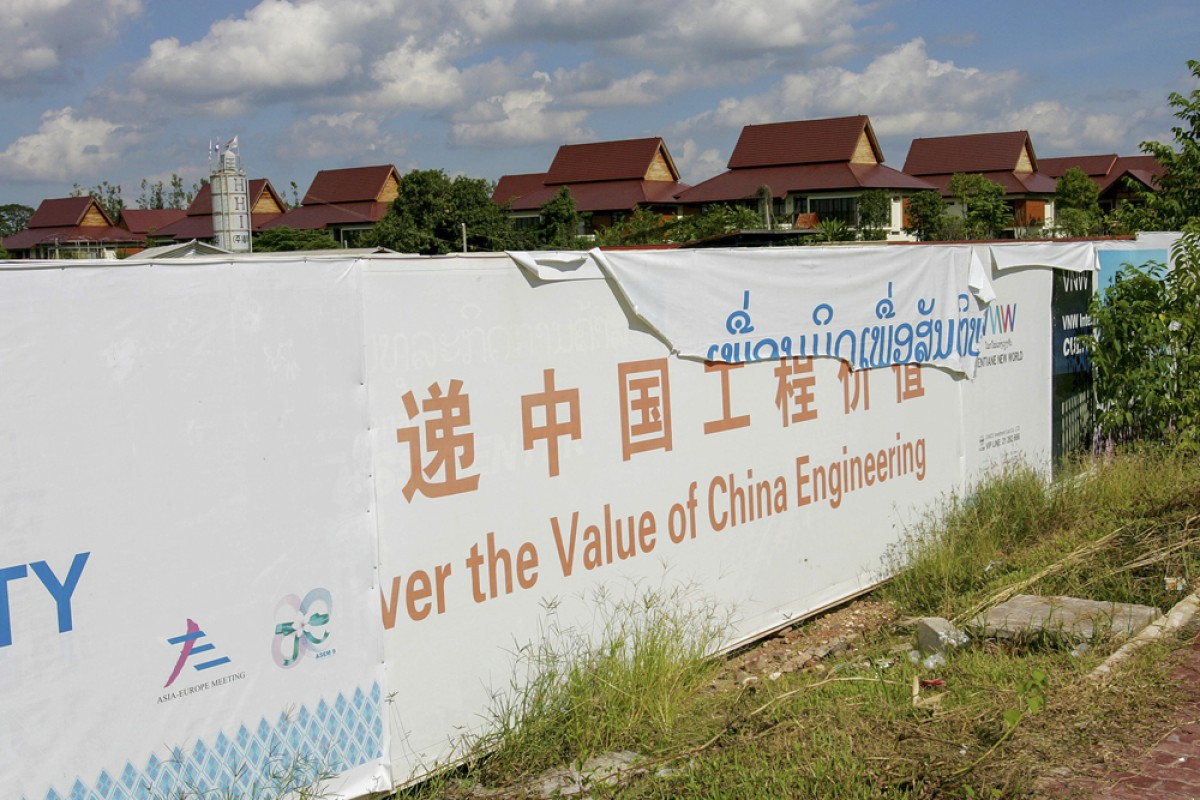 The Chinese-built villas that housed leaders attending the ninth Asia-Europe Meeting in Vientiane last November.