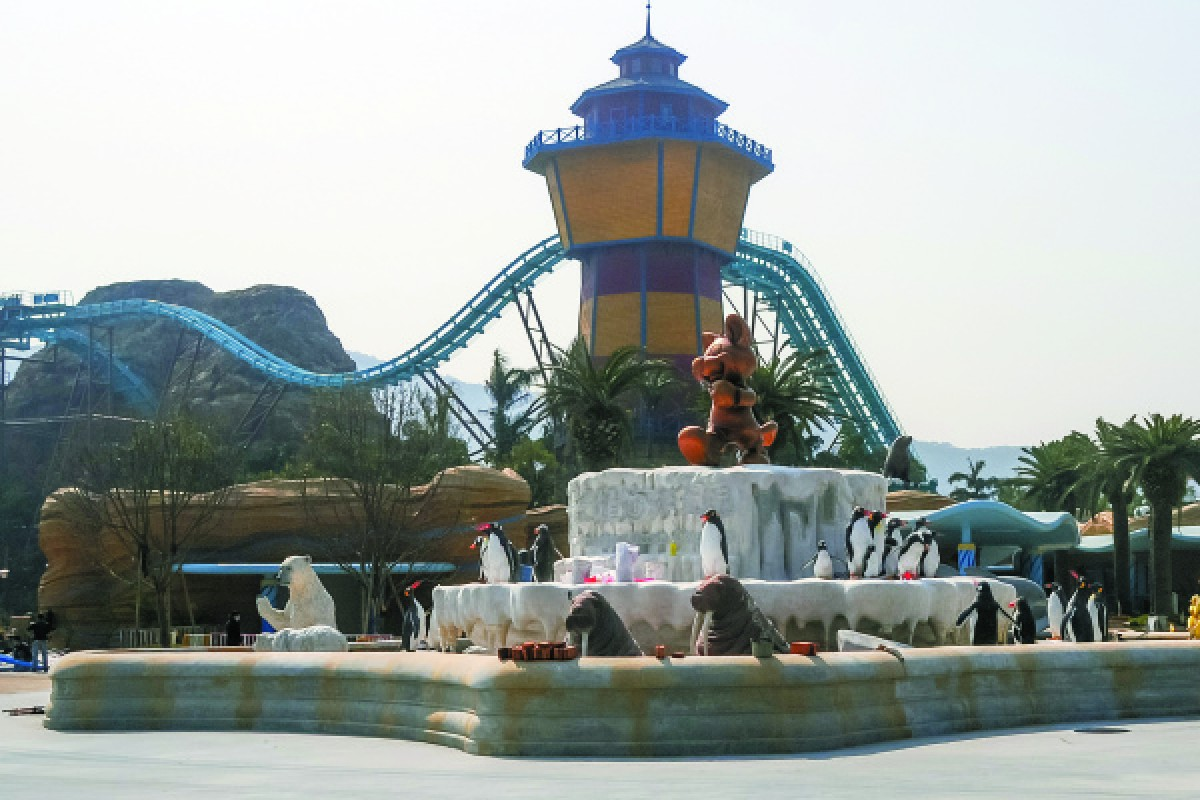 Ocean Kingdom, on Hengqin.