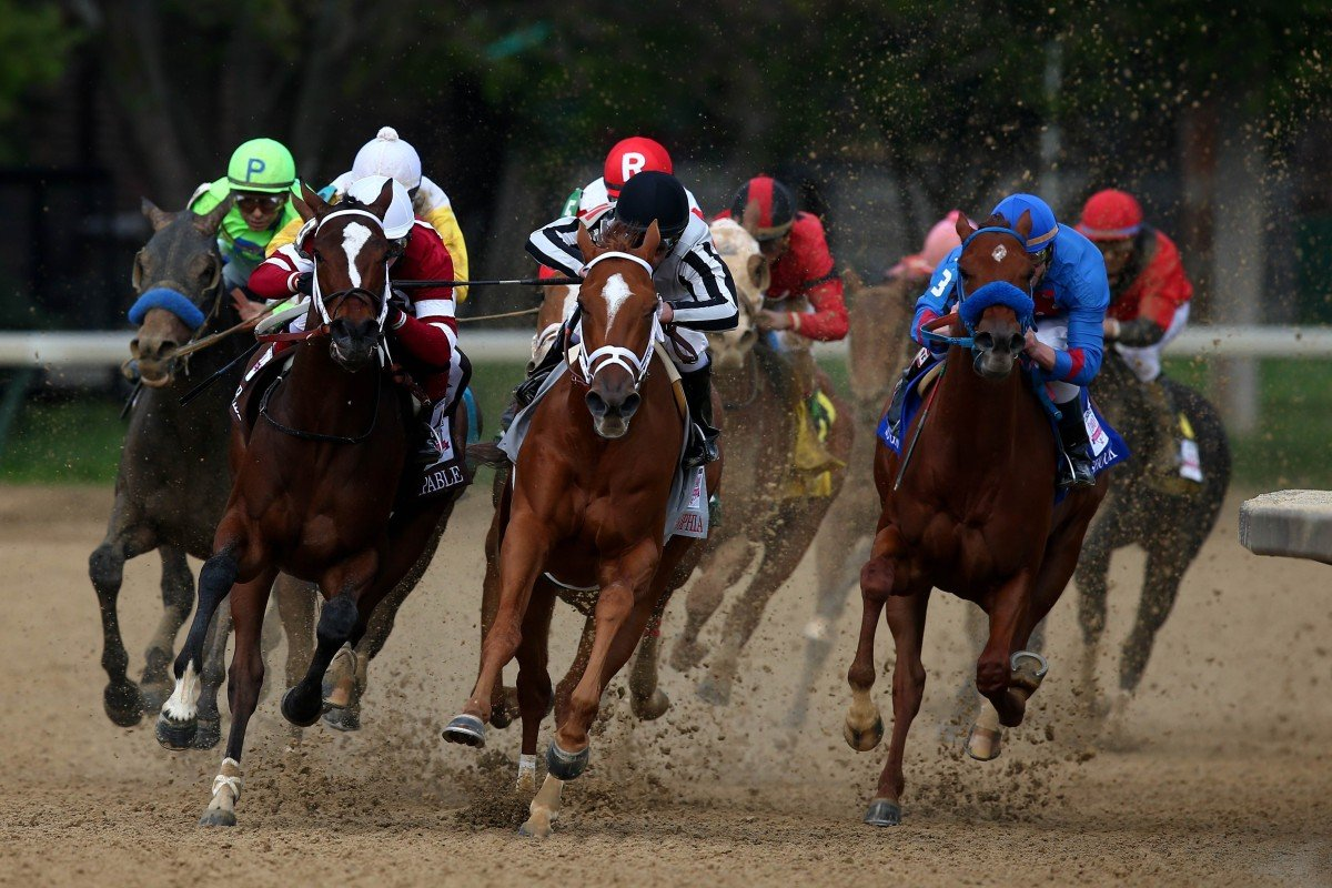 The 140th running of the Kentucky Oaks on Friday. Some  35 people from the racing industry in the United States is in Hong Kong to attend the Asian Racing Conference at Sha Tin. Photo: AFP