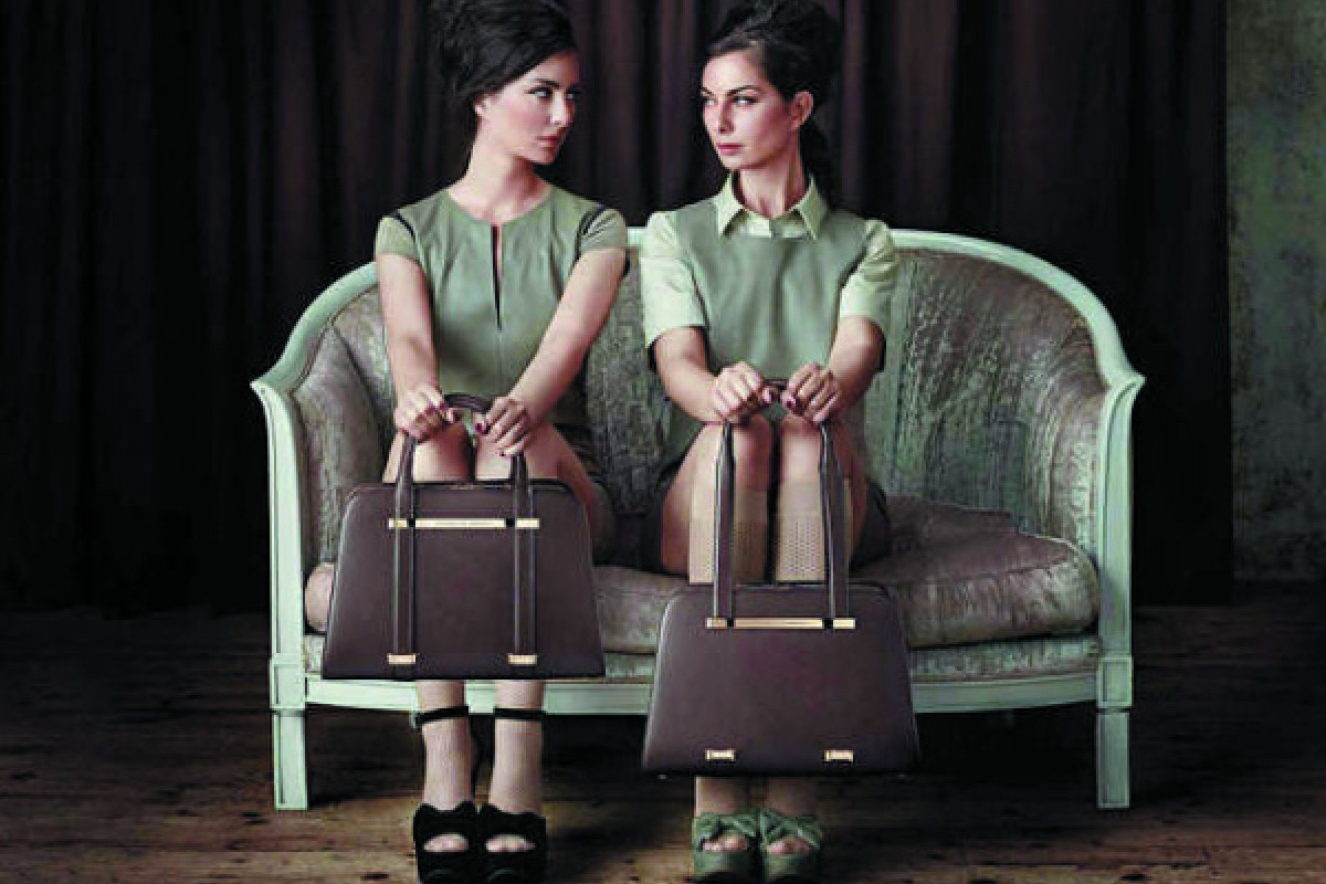 Porsche Design's Twin Bag can be adjusted to work as either a handbag or a            shoulder bag.