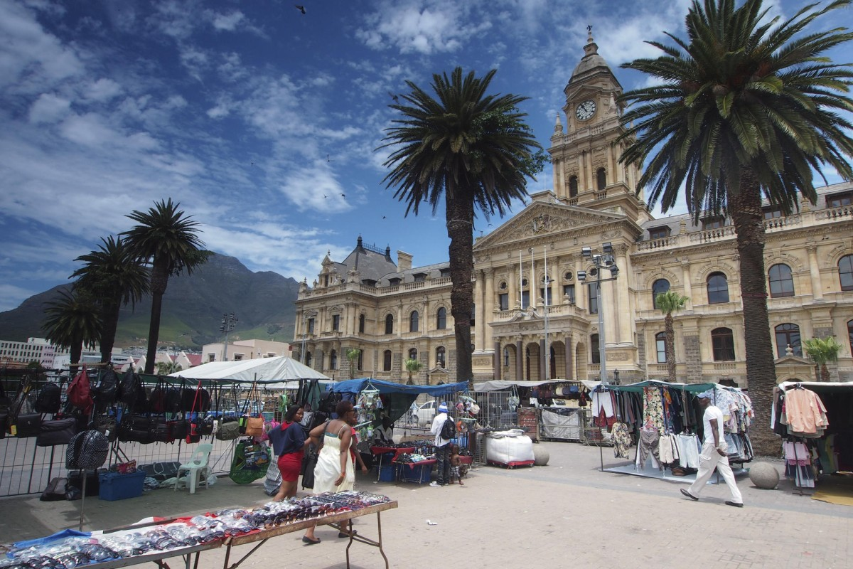 City Hall in Cape Town.