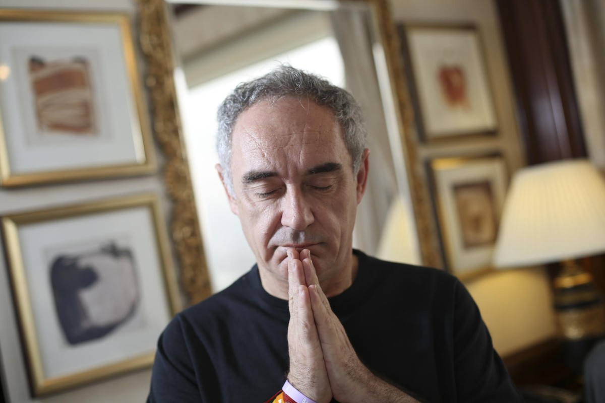 Ferran Adria. Photo: Sam Tsang